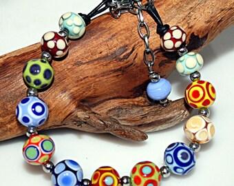 Lampwork  Art Jewelry by Jeanniesbeads #4880