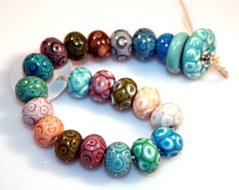 Lampwork  Art Beads by Jeanniesbeads #3992