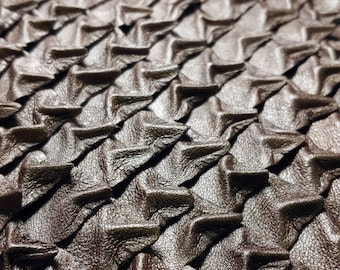 Leather Dragon Scales Pieces for DYI Craft Projects, Larp Cosplay Costume Making, Medieval Rune Crystal Coin Bag, Dungeons & Dragons Fantasy