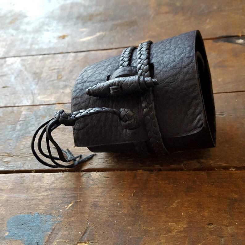 Wide Leather Button Cuff Jason Momoa Style Wrist Wrap Bracelet R2S  BROWN BUSAJJA Leather Wrap Bracelet Men/'s Gypsy Cowboy Bohemian Man
