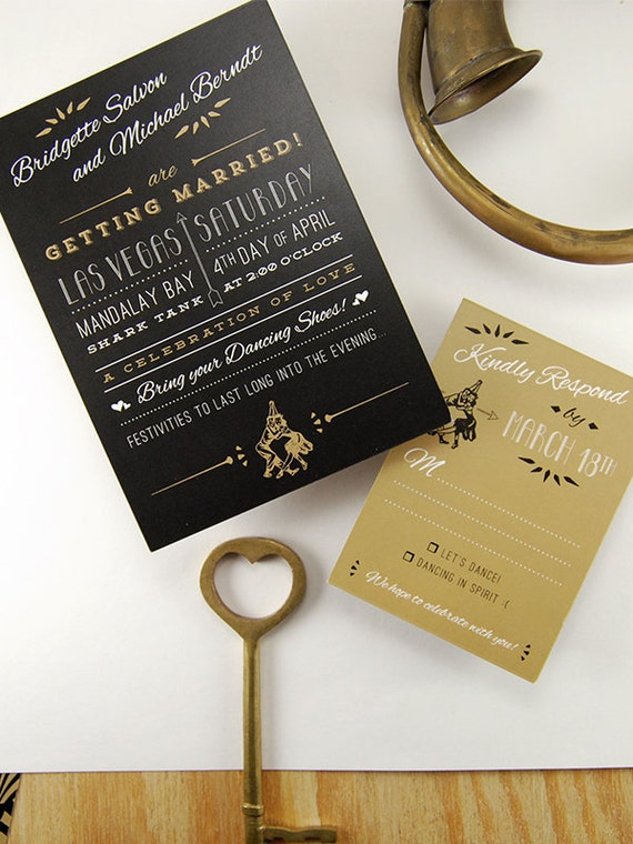 the speakeasy great gatsby inspired vintage invitations etsy