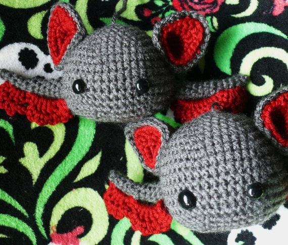 Baby Amigurumi Bat Crochet Pattern Pdf Etsy