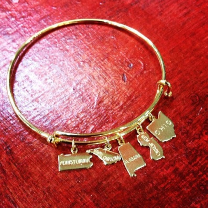 Florida Charm 12 pieces Gold Plated