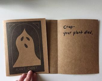 Plant Sympathy Card