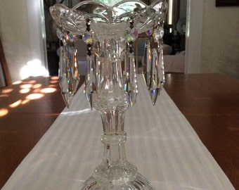 Crystal Candlestick/20% off with coupon code ZTMEL29334