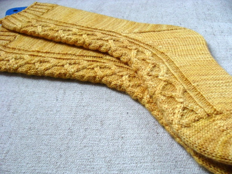 Sock Knitting Pattern Kindred Spirits Women Medium Hand Knit Etsy