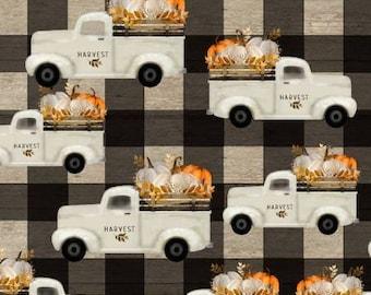 Thanksgiving Fabric, Autumn Pumpkin Fabric, Fall Harvest Fabric, Autumn Harvest Fabric, Free Shipping