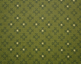Cotton Sewing Quilting Fabric, Dark Olive Green