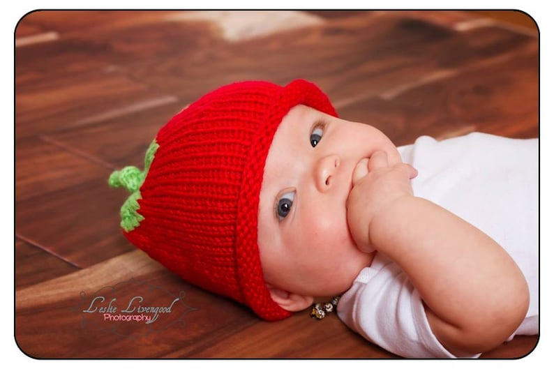 1a2a754b0f9 Hat Baby Hats Tomato hat knit Newborn Infant Toddler