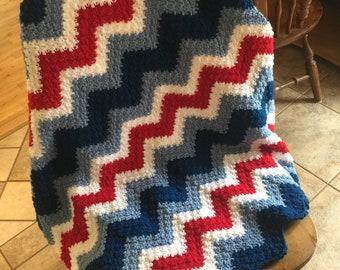 Americana Baby Afghan Crochet