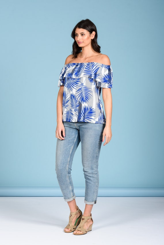 Rosa sweatshirt with sheer burnout front and bamboo terry sleeves and cuffs