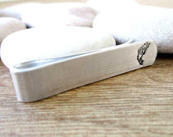 Sterling Silver Open Mouth Bass Tie Clip Bass Fish Tieclip Tie Bar
