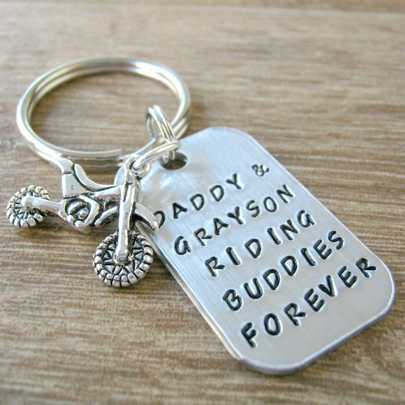 Handmade Atom Silver Plated Keyring//bag Charm Dad Father Gift Gift Boxed