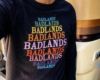 Vintage Inspired Badlands National Park Sweatshirt