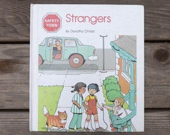 Strangers - Safety Town - Vintage Children's Book - 1982
