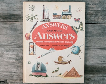 Vintage Answers and More Answers Book - 1977