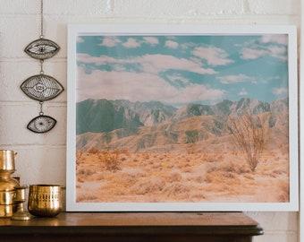 Anza-Borrego Vintage Inspired Desert Photo Print