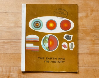 The Earth and Its History - Vintage Children's Textbook - 1965