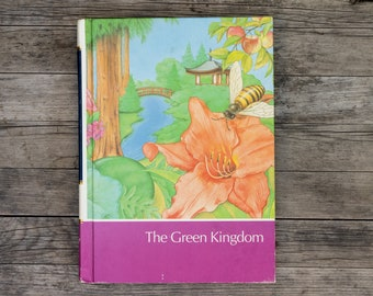 The Green Kingdom - Vintage Childcraft Children's Book