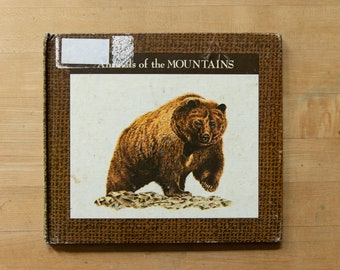 Vintage Animals of the Mountains Book - 1977