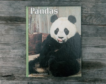 Vintage National Geographic Books for Young Explorers - Pandas - 1973