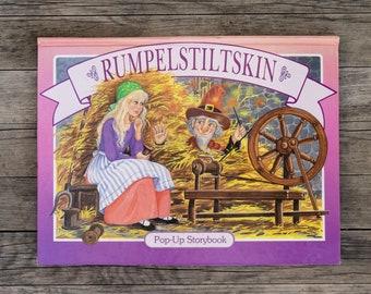 Rumpelstiltskin - Vintage Children's POPUP Book - 1994