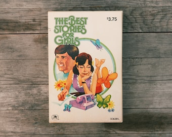 Vintage The Best Stories for Girls Book Series Set