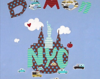 New york city tapestry new york city wall tapestry new personalized lt blue baby blanket with nyc designnyc baby giftbaby gift baby shower gift new york city baby gift personalized baby gift negle Choice Image