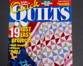 McCall 39 s Quick Quilts Magazine Spring 1998 Templates Patterns Instructions 19 Projects