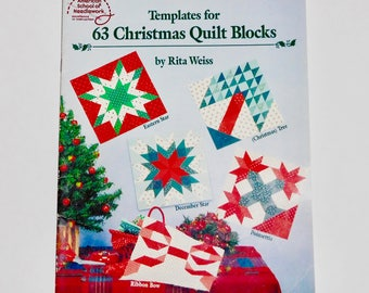 Vintage 1969 Good Housekeeping Plume And Star Quilt Patterns Etsy