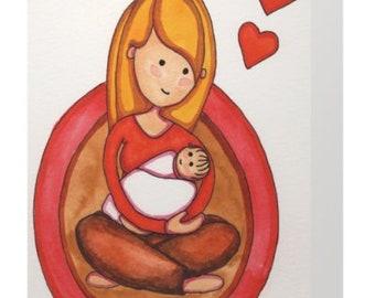 Baby Love Greeting Card