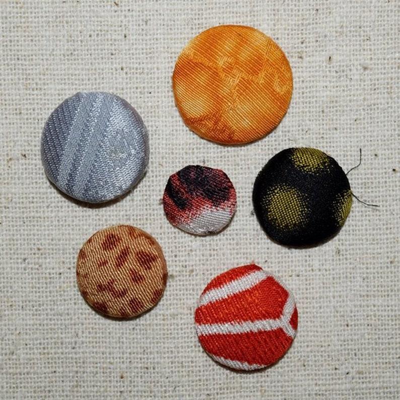 50 Vintage Button Blanks Snap Covers Japanese Michiyuki Kimono Jackets Mix