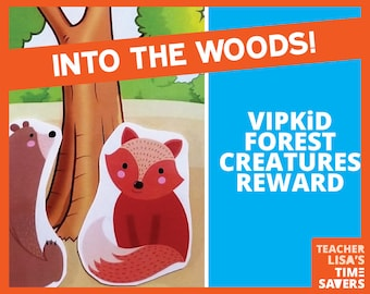 Forest Creatures VIPKid Reward Set