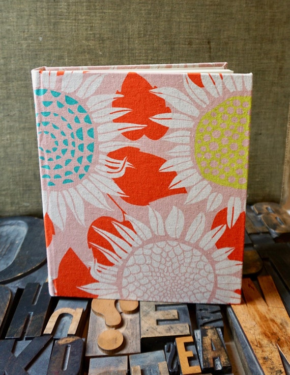 Photo Album - Large with Sunflower Pattern