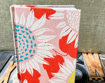 Journal - Large Lined Sunflowers