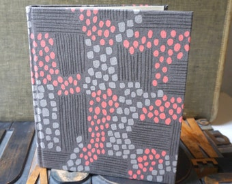 Photo Album  Large Covered with Aerial View Fabric by Jen Hewitt