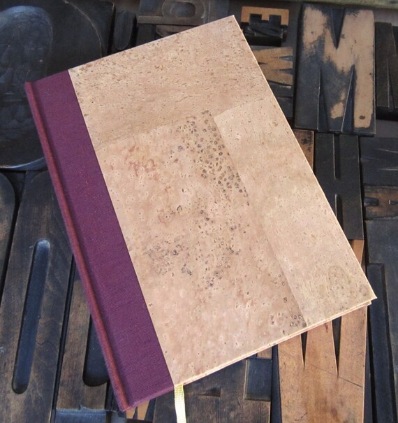 Wine Journal - Large with Cork Paper Cover