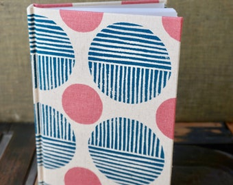 Small Unlined Fabric Covered Journal