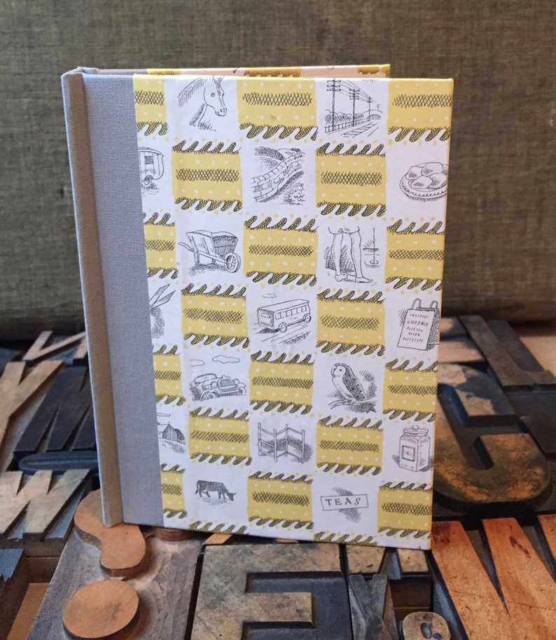 Journal  Small Blank Yellow British Themed image 0