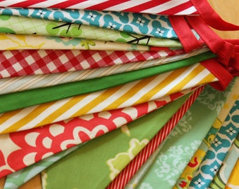 Super Long Carnival Bunting, Wedding, Party Flags, Birthday Decoration, Photo Prop. LARGE Sized Flags in Cotton Fabrics.