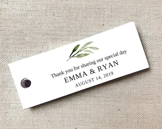 Personalized Welcome Tags, Custom Wedding Tags, Gift Tags, Personalized, Favor Tags, Welcome Gift Tags, Custom Tags - Set of 40