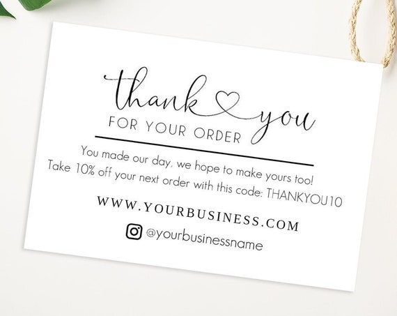 Custom Business Cards | Thank You Cards | Discount Cards | Printed Business Cards | Promo | 3375