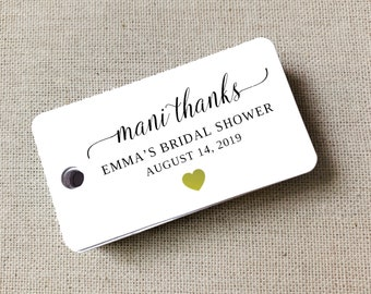 Personalized Welcome Tags, Custom Wedding Tags, Gift Tags, Personalized, Favor Tags, Welcome Gift Tags, Custom Tags, Set of 40 (Item MB32)