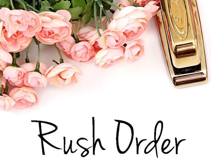 RUSH MY ORDER - 24 Hour Rush Fee