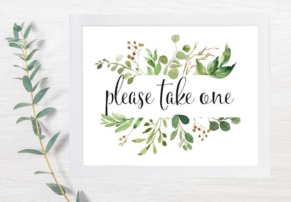 PRINTABLE Please Take One, Wedding Signs, Bug Spray Wedding, Summer Wedding, Printable Wedding Sign, Wedding Signs, DIY, Sunflower