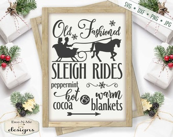 Horse And Sleigh Etsy