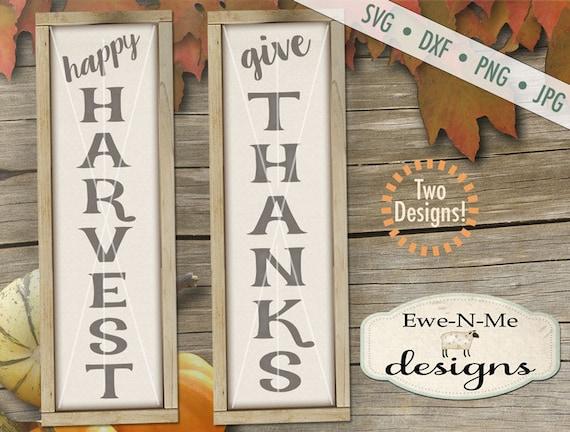 Thanksgiving svg - Harvest svg - harvest sign svg - thanksgiving sayings svg