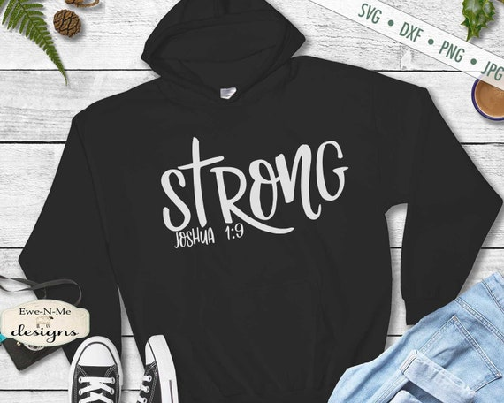 Strong SVG - Joshua 1:9 SVG