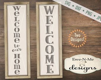 Welcome svg - Welcome Sign svg - welcome to our home svg - welcome porch sign svg bundle - svg bundle - Commercial use svg, dxf, png and jpg