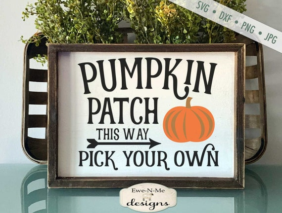 Pumpkin Patch -This Way SVG